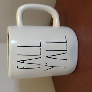 Rae Dunn Fall Y'All Leaf Mug